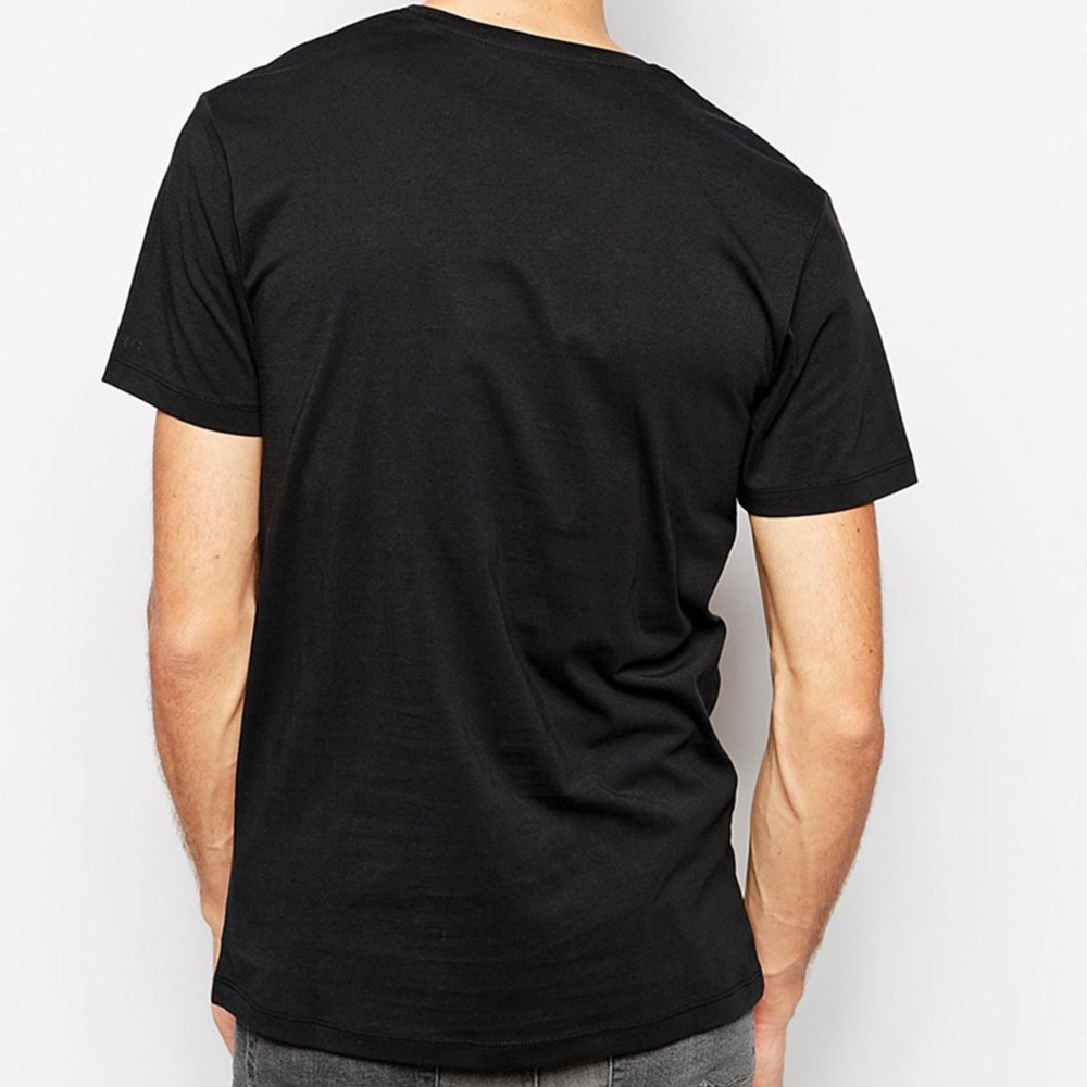 8f1b4b3df4c Free Shipping Solid T Shirts Men Blank T Shirt V Neck Short Sleeve Man Tops  Cotton Euro Size Mens Tees Shirt Wholesale-in T-Shirts from Men s Clothing  on ...