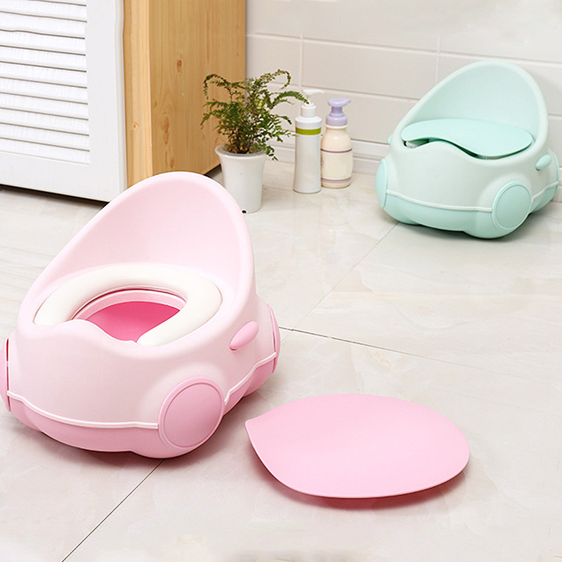Baby Training Toilet Seat Cute Egg Travel Children'S Pot Toilet Portable Boy Girls Potty Children'S Toilet Baby Potty