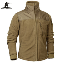 Mege Brand Tactical Clothing Military Fleece Autumn Winter Men S Jacket Army Polar Warm Male Coat