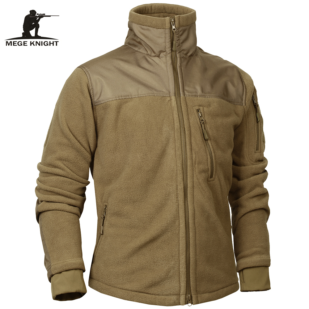Mege Brand Tactical Clothing Military Fleece Autumn Winter Men's Jacket Army Polar Warm Male Coat Outwear Jaquetas Masculino