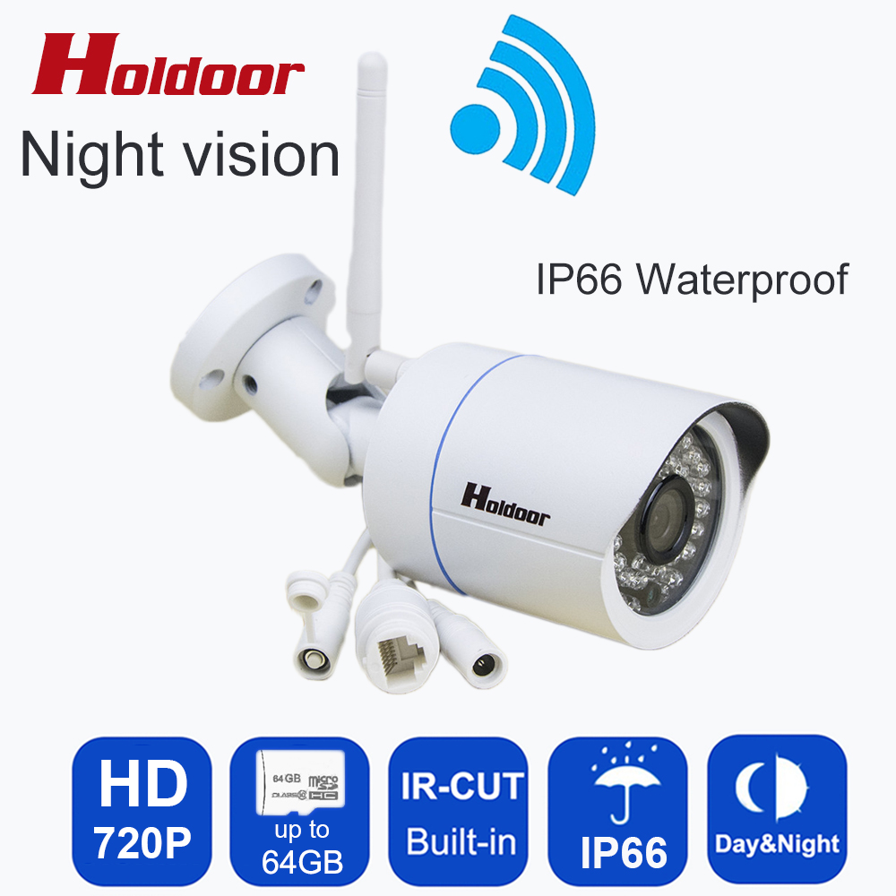 HD 720P Wireless IP Camera Wifi Onvif 2.0.4 Video Surveillance Security CCTV Network Wi Fi Camera Infrared IR And With IR-CUT hd 720p owlcat onvif wifi dome ip camera home video surveillance smart dome ir cctv network security camera support 128g sd card