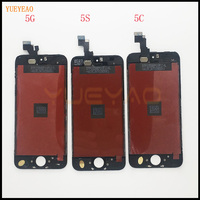 YUEYAO AAA NO Dead Pixel LCD For IPhone 5 5S 5c Touch Screen With Digitizer Assembly