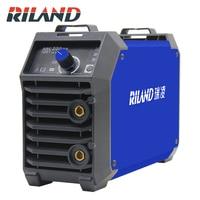 RILAND Double Voltage 220V 380V ARC 200DS MMA Welding Machine Mini Portable Electric Working ARC MMA Welder Inverter