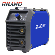 RILAND Double Voltage 220V 380V ARC 200DS MMA Welding Machine Mini Portable Electric Working ARC MMA Welder Inverter small size powerful welder mma arc welding machine 220v 200a