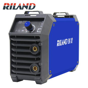 RILAND Double Voltage 220V 380V ARC 200DS MMA Welding Machine Mini Portable Electric Working Welder Inverter