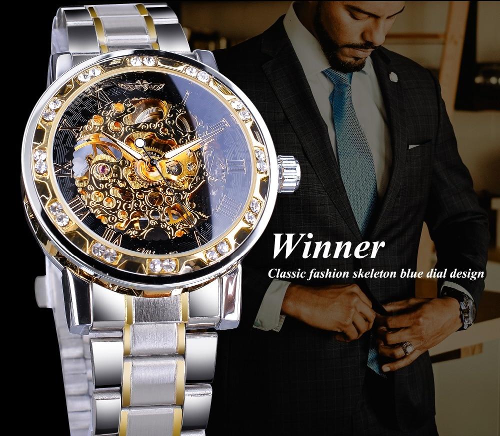 HTB13.T3ajDuK1Rjy1zjq6zraFXa0 Winner Transparent Fashion Diamond Luminous Gear Movement Royal Design Men Top Brand Luxury Male Mechanical Skeleton Wrist Watch