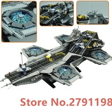 LEPIN 07043 3057Pcs Super Heroes The Shield Helicarrier Model Building Blocks Bricks Toys Kits boy gift Compatible 76042