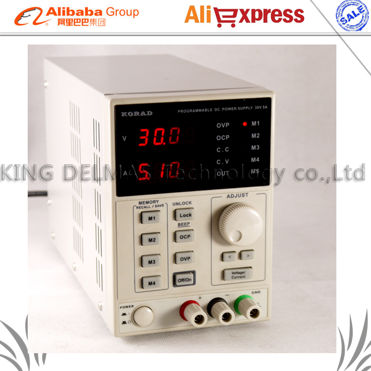 KA3005D high precision Adjustable Digital DC Power Supply 4Ps mA 30V/5A for scientific research service Laboratory EU 220V