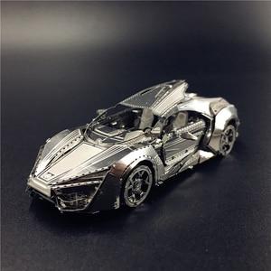 MMZ MODEL NANYUAN 3D Metal model kit Hypersport Racing Car Assembly Model DIY 3D Laser Cut Model puzzle toys for adult(China)