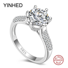 Best Selling 1.25ct Simulation Diamond Engagement Wedding Solitare Ring Solid 100% 925 Sterlin...