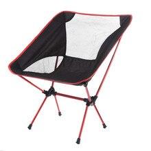 Fishing Folding Chair Portable Lightweight Outdoor Seat Stool Aluminium Alloy Fishing Camping Hiking Gardening Foldable Chair