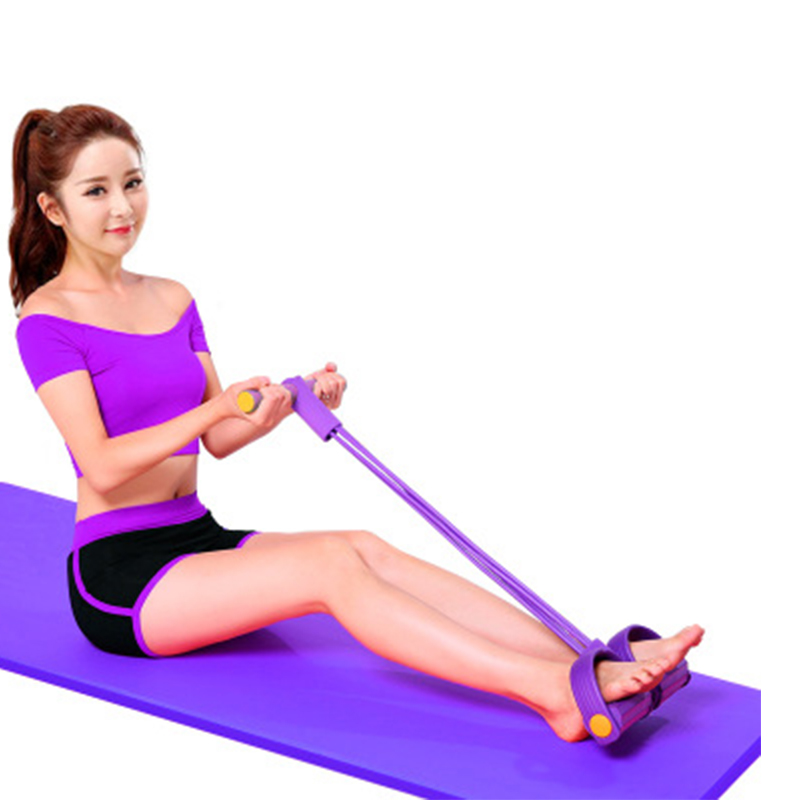 Elastic Tension Rope Chest Expander Yoga Pilates Slimming Product Fitness Belt 2019