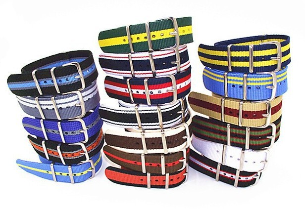 New color - Hot sale ! High quality 20MM Nylon Watch band NATO straps waterproof watch strap nato strap - 302402