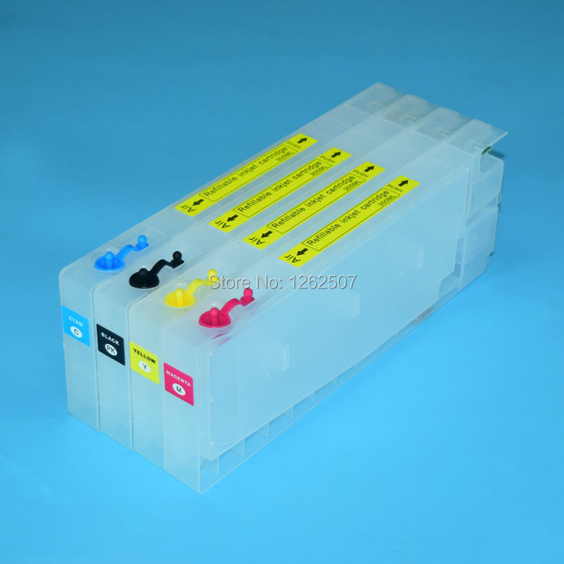T6161 T6162 T6163 T6164 For Epson Refillable ink cartridge For EPSON B-300dn B-310DN B-500dn B-510DN 4colors replacement inkjet cartridge for epson nx100 115 200 215 300 400 415 workforce 30 310 500 60