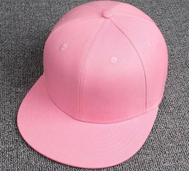 Wholesale 10pcs Women Blank Flatbill Snapbacks Hats for Spring Womens  Polyester Hats Summer Plain Sports Snap 71e0f66b0e1f