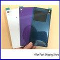Оригинальные Задние Стекла Задняя Крышка Батареи Для Sony Xperia Z2 L50W D6503 D6543 Сзади Дело Жилищного + ЛОГОТИП