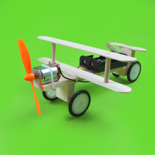Electric Gliding Aircraft DIY Science Students Model of Manual Materials Science Experiment