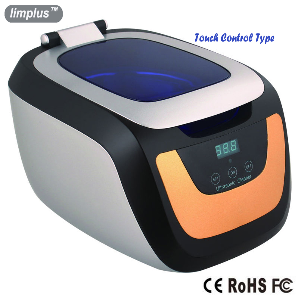 Limplus 750ml Ultrasonic Cleaner 50W Digital Touch Control Panel Mini Ultrasound Bath Machine Washer Watch Glasses Denture