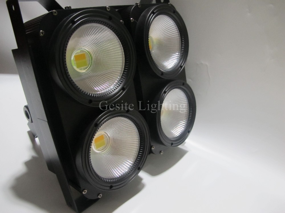 4x100 W DMX512 Led Audiência Blinder Luz