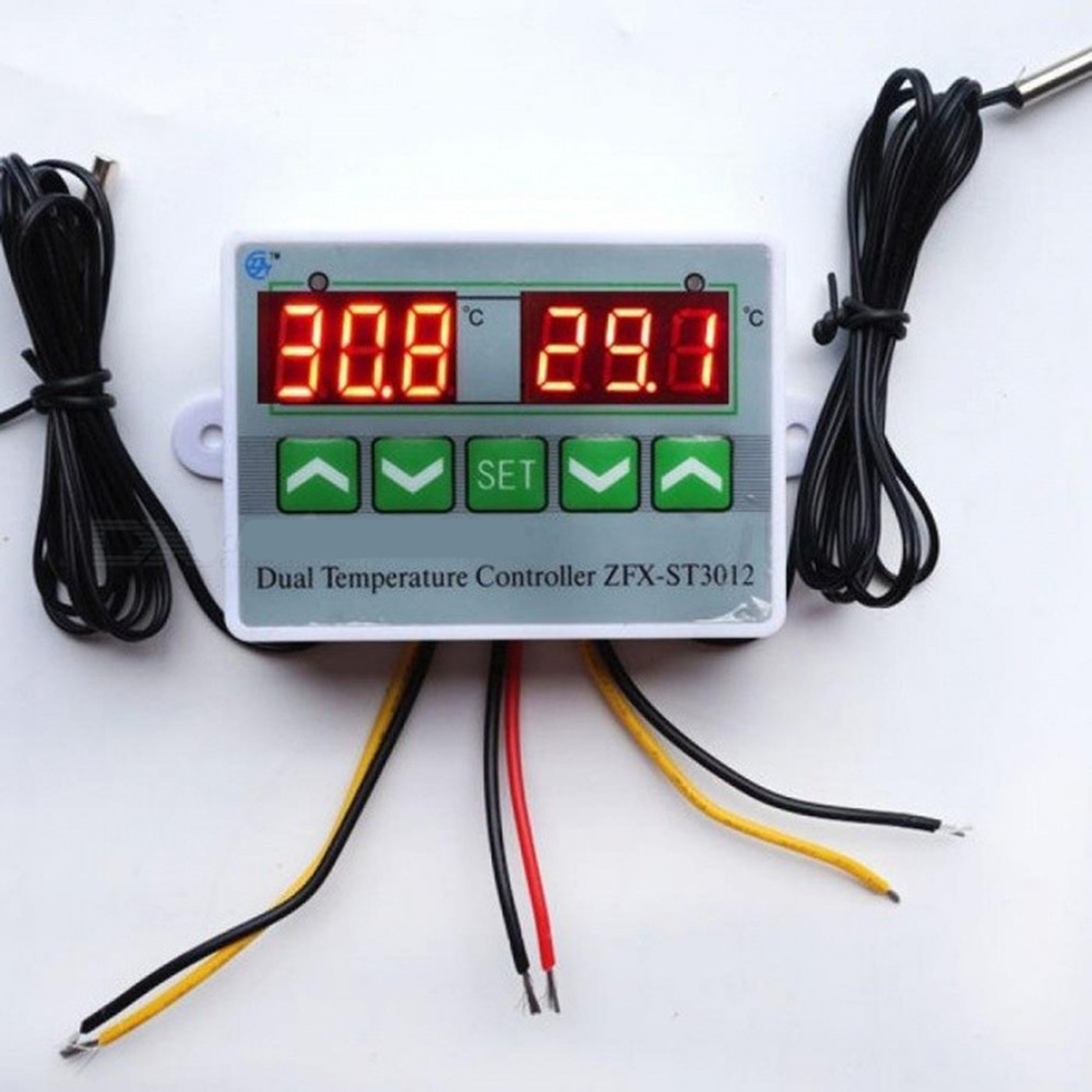 Digital Temperature Controller Switch Thermostat Regulator Sensor With Probe