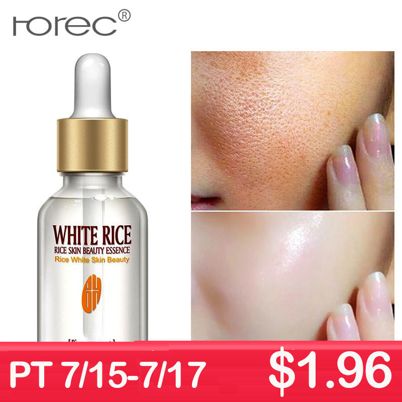 ROREC White Rice Serum Essence Moisturizing Anti Wrinkle Anti-allergy Face Intensive Face Lifting Deep Firming Nourishing Gel