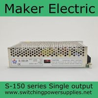 S 150 24 LED Switching Power Supply , 110V 220V AC to DC 24V 6.5A 150W single Output