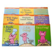 Kids Story Book Elephant & Piggie English Story Book for Kids Reading 9pcs/set