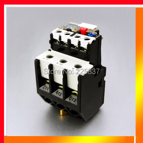 цена на Free shipping high quality JR28-36 / LR2-D-23 LR2D adjustable current Thermal Overload Relay Telemecanique starter Thermal relay
