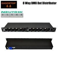 Preço barato Neutrik XLR de 3 PINOS Soquete Spliter DMX Console DMX Diodo Emissor de Luz DMX512 Sinal Indicador Individual 2 Grupo Distribuir