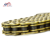 NEW Motorcycle ORV Off Road Vehicle 428 520 525 530 Golden Oil Seal Chain Sets 1pc Motorcycle Chain