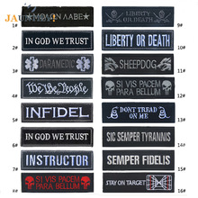 200 pc/lot Wholesale Popular Embroidered Patch Cloth Military Patches Epaulette Stripes on Backpack Shoulder Emblem for Clothes