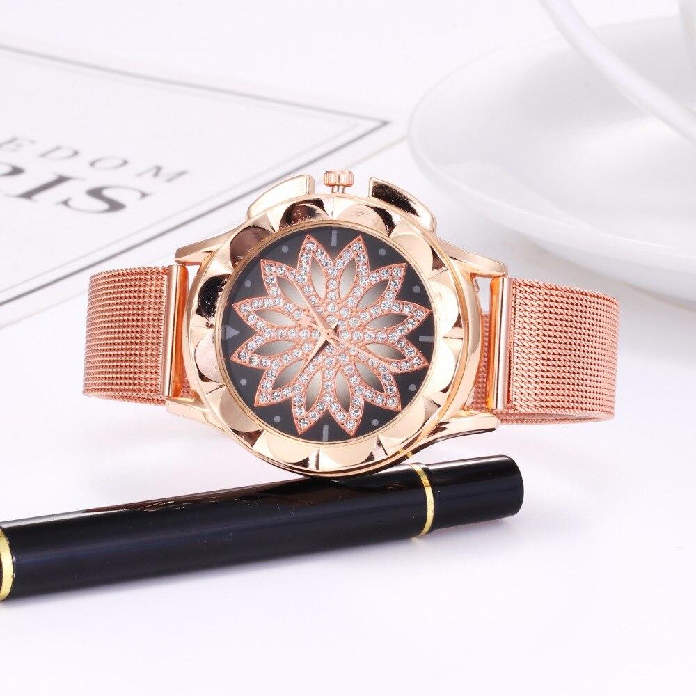 Reloj 2018 Best Sell Women Watches Fashion Classic Hot Sale Luxury Stainless Steel Analog Quartz WristWatches Relogio Feminino