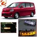 EeMrke Para Toyota VOXY 2007 2008 2009 2010 2011 2012 2013 Lateral Espelho Retrovisor Luzes DRL LEVOU Piscas