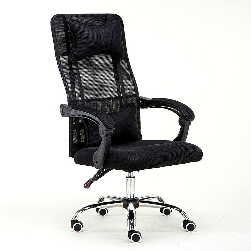 Home Fabric Ventilated Computer Office Chair Leisure Chair Can Rotate Lying Boss Chair Protection Spine Comfort Chair plastic dining chair can be stacked the home is back chair negotiate chair hotel office chair