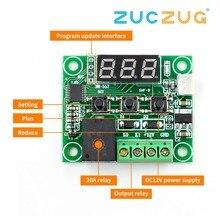 W1209 DC 12 В светодиодный цифровой термостат контроль температуры термометр термо контроллер модуль переключателя+ датчик