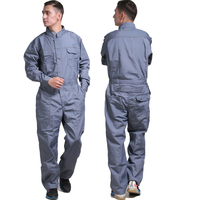 Men Work Overalls Long Sleeve Summer Thin Dust proof clothing Wear resistant Factory Uniforms Labor Working Coveralls Workwear