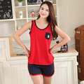 Cotton Pajamas Female Casual Round Neck Outerwear Comfortable Tracksuit   Women Leisure Suit Nightgown Tracksuit