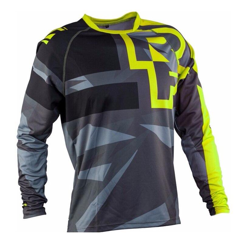 2017 new Enduro Jeresy Downhill Jersey MTB Offroad long motorcycle long motocross Racing Riding Cycling Jersey long T-shirt