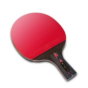 Image 5 - Карбоновые ракетки для настольного тенниса HUIESON, 2 шт., супермощные ракетки для пинг понга, летучая мышь для тренировок в клубе для взрослых, новая улучшенная модель 5/6
