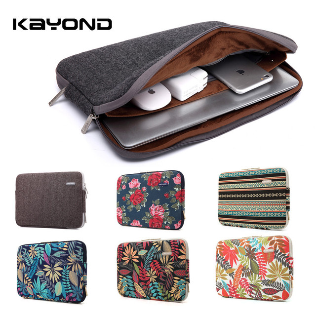 2016 Newest Brand Kayond Laptop Sleeve Case 11,13,14,15,15.6 inch Computer Bag,Notebook, Bag For MacBook, Free Drop Shipping.