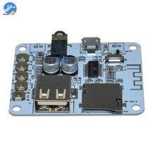 USB Bluetooth аудио приемник плата TF слот для карты MP3 аудио декодеры плеер 5 в беспроводной стерео музыкальный плеер модуль