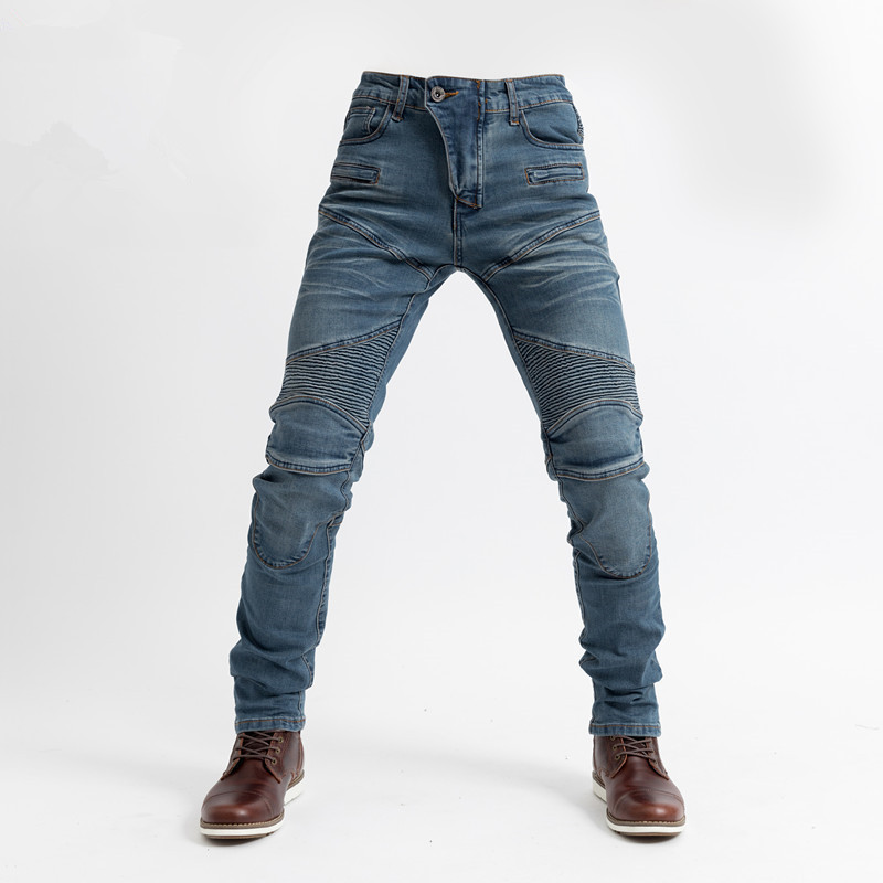 2019 Komine MOTORPOOL UBS06 PK718 Jeans Leisure Motorcycle Men's Off-road Outdoor Jean/cycling Pants With Protect Equipment