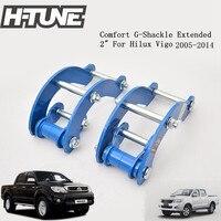 Rear Suspension Leaf Spring G Shackles For Hilux Vigo 2005 2014