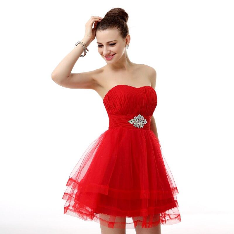 852a5702978 Real Photos Red formal Mini Homecoming Dress 8th Grade Junior Prom Dresses  Short 2019 Vestido De Formatura Vestidos Cortos