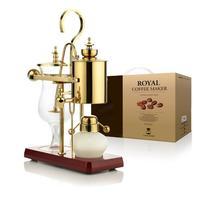 J design water drop Royal balancing siphon coffee machine/belgium coffee maker syphon vacumm coffee brewer