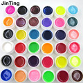 High quality 36 Mix Colors Nail Art UV gel Professional New  Pure + Glitter Powder+ Shimmer Colorful Nail Gel UV gel set