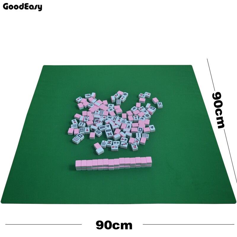 90x90 cm Mahjong en caoutchouc nappe famille partie jeu Mini Mahjong tapis de Table (non inclus mahjong juste mahjong nappe)