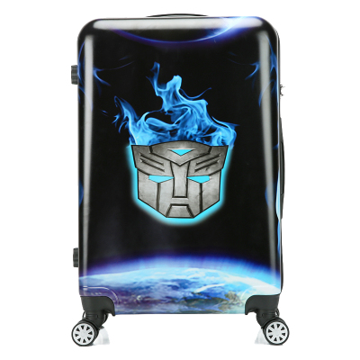 CARRYLOVE cartoon luggage series 18/20/24 size boarding PC Super hero  Rolling Luggage Spinner brand Travel Suitcase