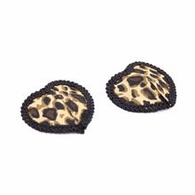 Women Sexy Pasties Reusable Tepel Cover Leopard Nipple Self Adhesive Breast Tape Fetish