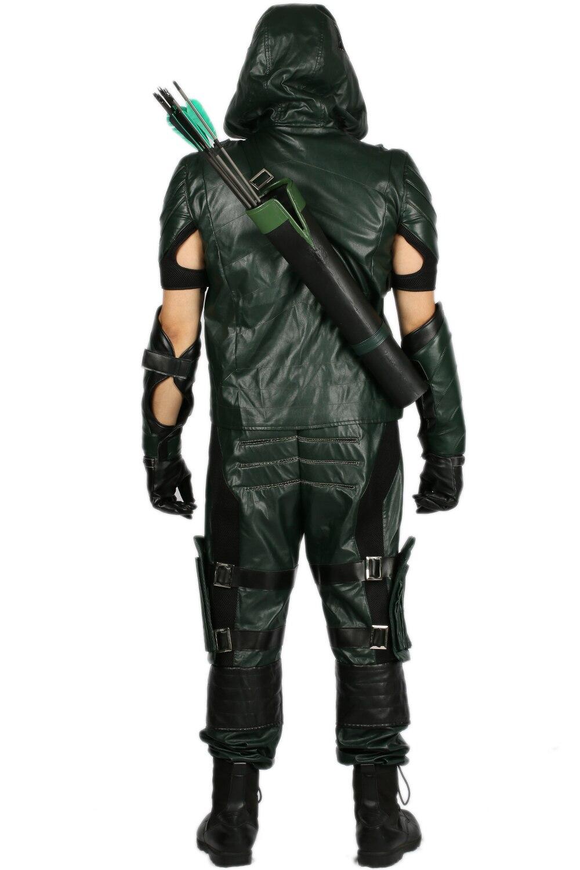 Aliexpress.com : Buy XCOSER The Arrow Costume Green Arrow Season 4 ...